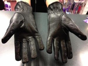 Leather Vampire Gloves