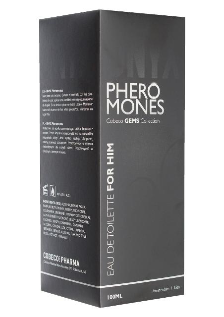 Onyx Pheromone Men Eau De Toilette 100ml