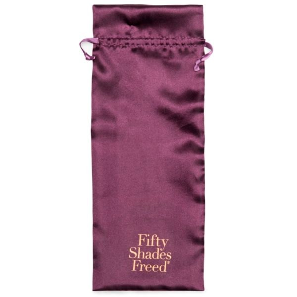 Fifty Shades Freed Lavish Attention Rechargeable Clitoral & G-Spot Vibrator Storage Bag