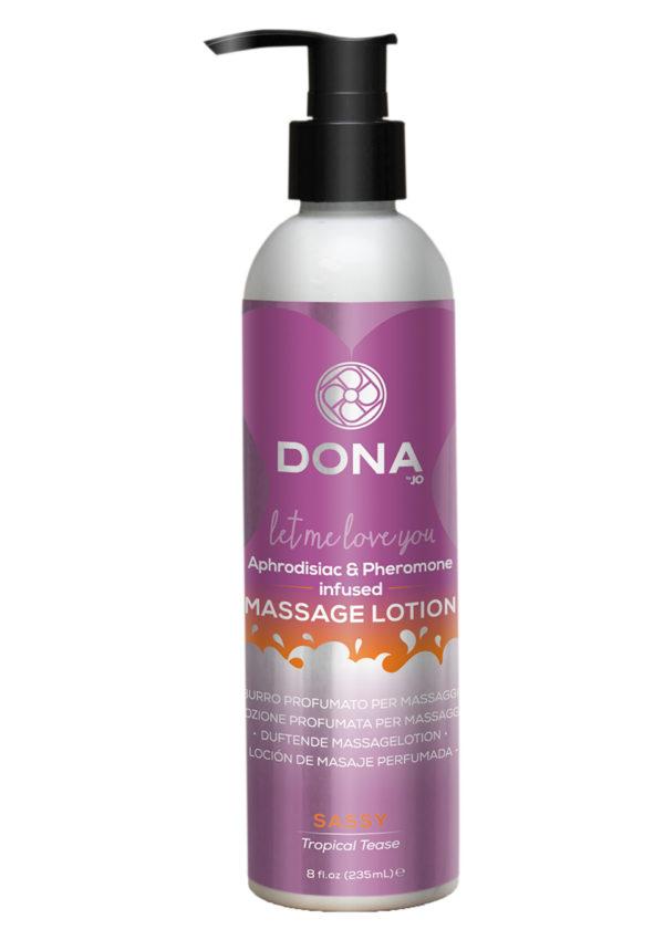 DONA Aphrodisiac Tropical Tease Massage Lotion 235ml