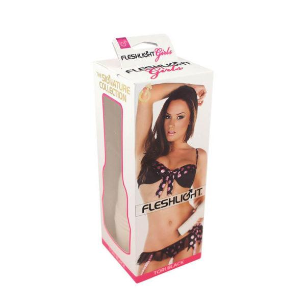 Fleshlight Girls Tori Black Torrid Texture Packaging