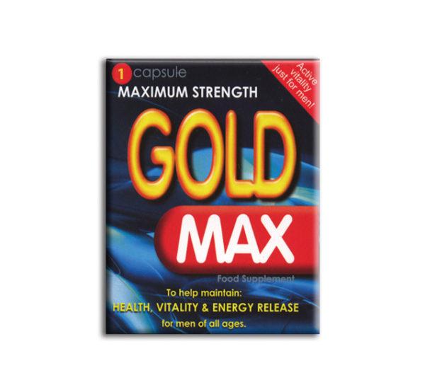 Gold Max Male Enhancement x 1