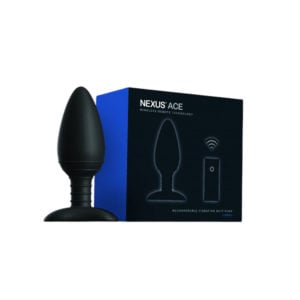 Nexus Ace Large Remote Control Butt Plug Packaging