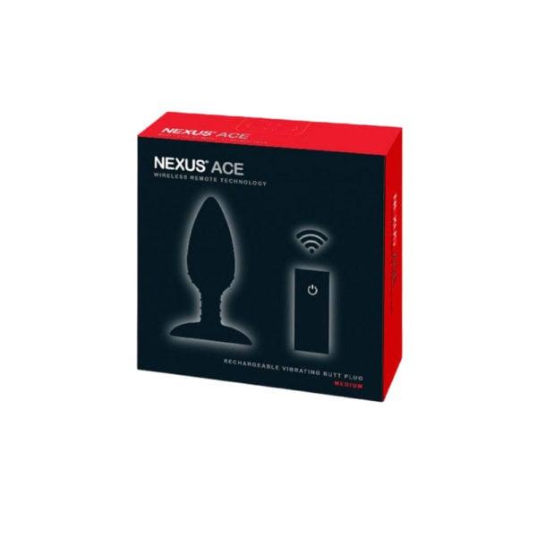 Nexus Ace Medium Remote Control Butt Plug Packaging