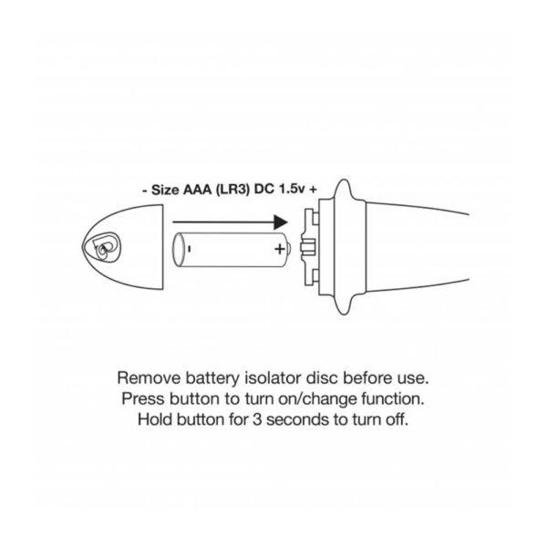 Rocks Off Quest 10 Speed Prostate Bullet Massager Battery Info