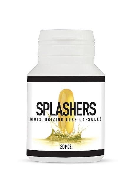 Splashers Oil Based Lube Capsules