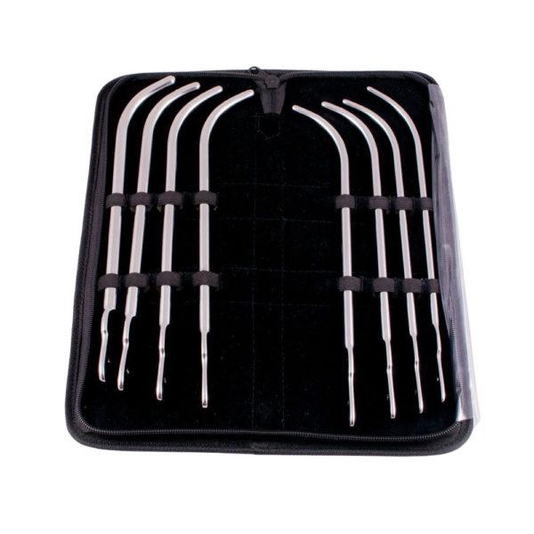 Stainless Steel Van Buren Urethral 8 Piece Set Case