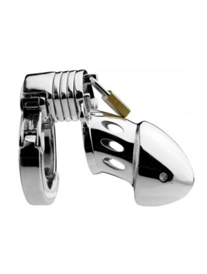 Stainless Steel The Prison Bird Chastity Cage
