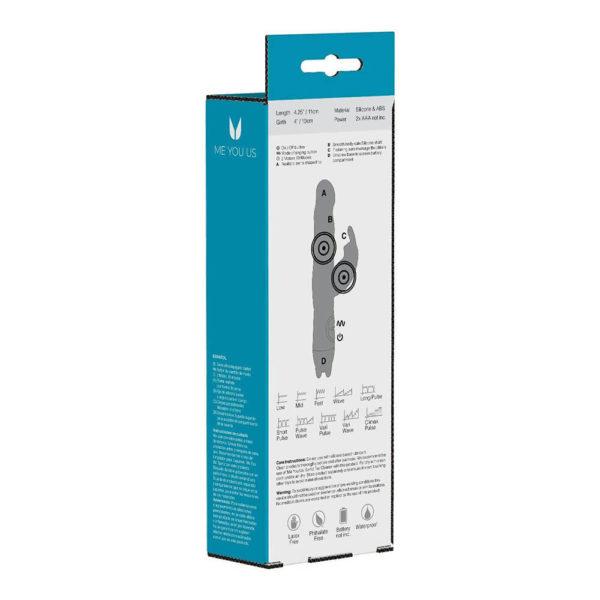 Ultra Joy Rabbit Vibrator Packaging Back