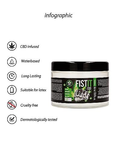 CBD Fist It Lubrication - 500ml Information