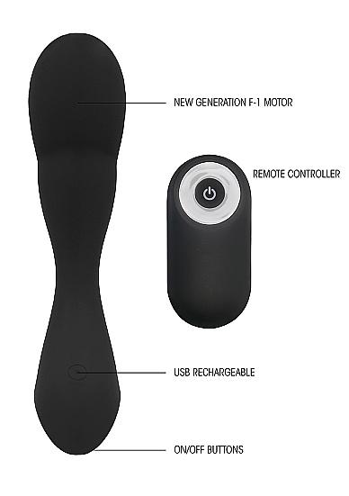 Sono No. 79 Rechargeable P-Spot Stimulator and Remote Info