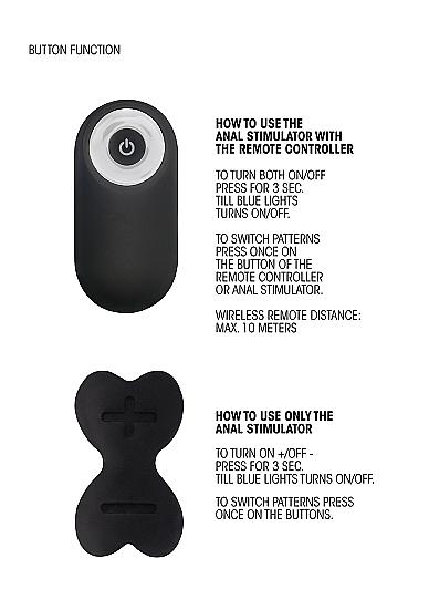 Sono No. 79 Rechargeable P-Spot Stimulator Remote Info