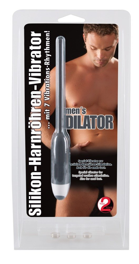 Mens Silicone Vibrating Dilator Packaging