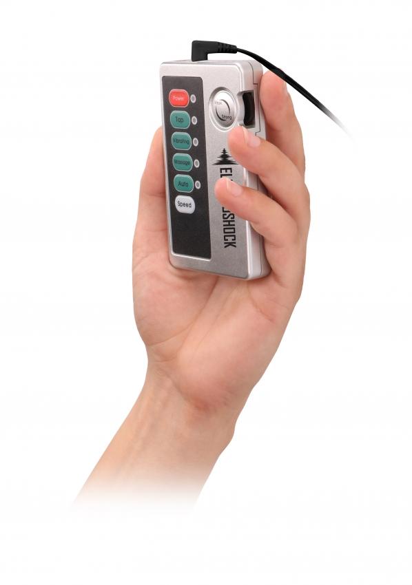 Electroshock Cockcage E-stimulation Chastity Device Control