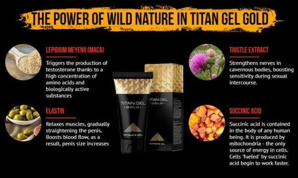 Titan Gel Gold Male Penis Enhancement Instructions