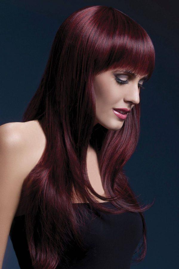 Fever Sienna Black Cherry Wig