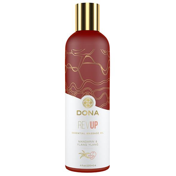 DONA Essential Massage Oil Rev Up Mandarin & Ylang Ylang 120ml