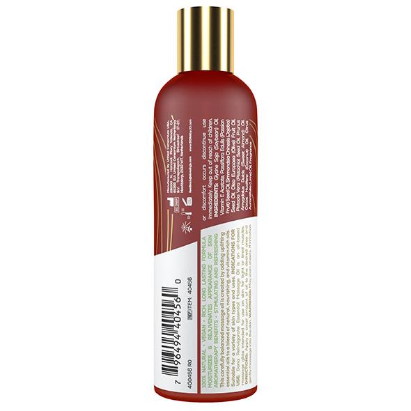 DONA Essential Massage Oil Reinvigorate Coconut Lime – 120ml Back