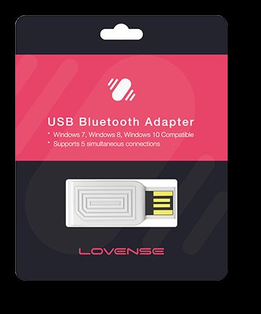 Lovense USB Bluetooth Adaptor Packaging