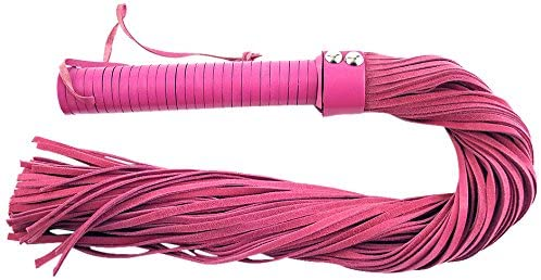 Rouge Suede Flogger Pink