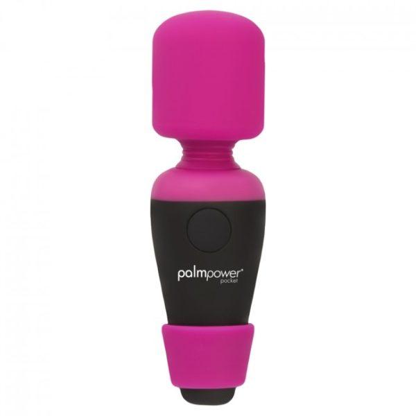 Palm Power Pocket Massager Mini Rechargeable Vibrating Massage Wand