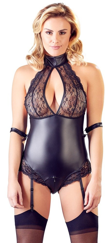 Cottelli Collection Bondage Lace Bodysuit
