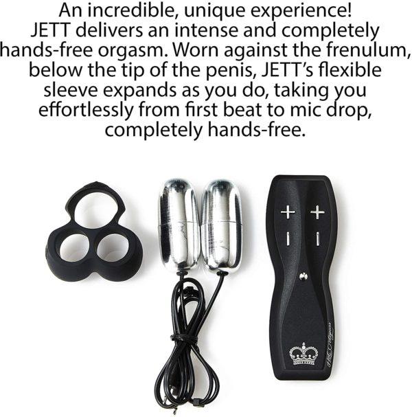JETT Hot Octopuss Hands-Free Male Masturbator Info