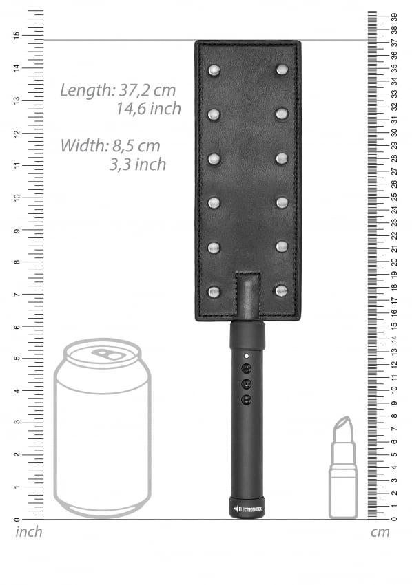 ElectroShock E-Stimulation Studded Paddle Size Chart