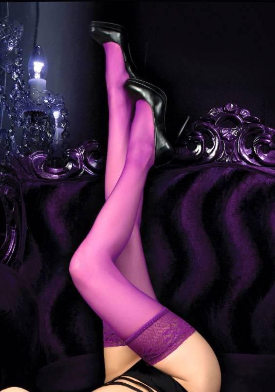 Ballerina Granata Hold Up Thigh-Highs 516 Close-up