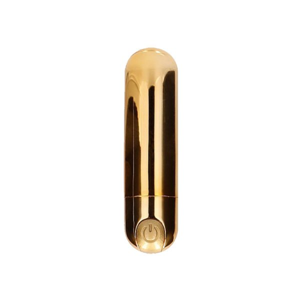 Be Good Tonight 7 Speed Rechargeable Bullet Gold