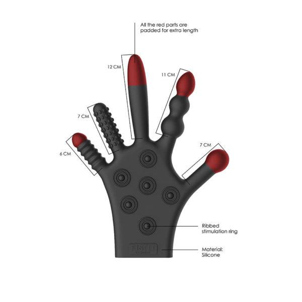 Fist It Silicone Stimulation Glove Info