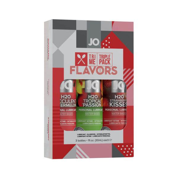 Jo Flavours Tri Me Triple Pack Lubricant