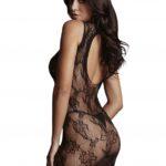 le-desir-high-neck-lace-mini-dress-back-close-up