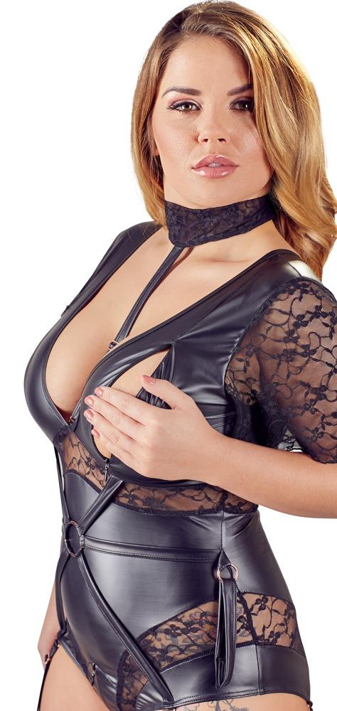 Cottelli Plus Size Bondage Body Side Close-up
