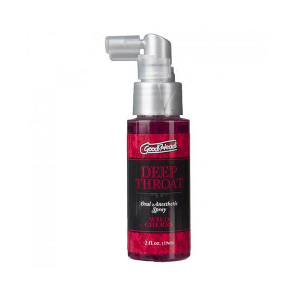 Doc Johnson Good Head Deep Throat Spray Cherry