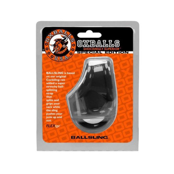 Oxballs Ballsling Ball Split Sling Packaging