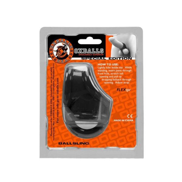 Oxballs Ballsling Ball Split Sling Packaging Back