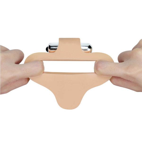 The Ultra Soft Bead Double Penetrator 6.5 inch Base Flexibility