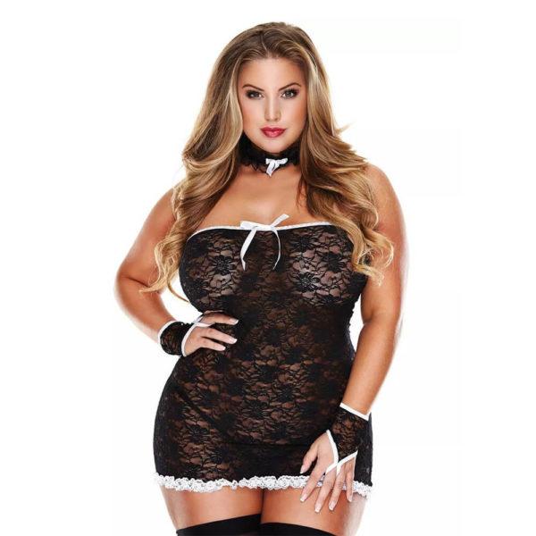 Baci Room Service French Maid Set Plus Size 1343Q