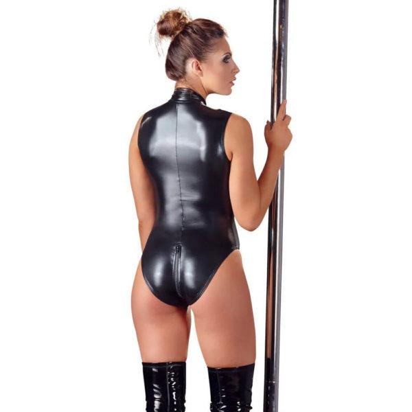 Cottelli High Neck Body with Zipper 2641186 Model Back