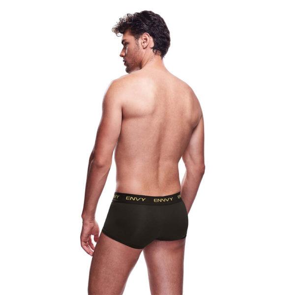 Envy Mesh Short Boxer BLE083 Black Back