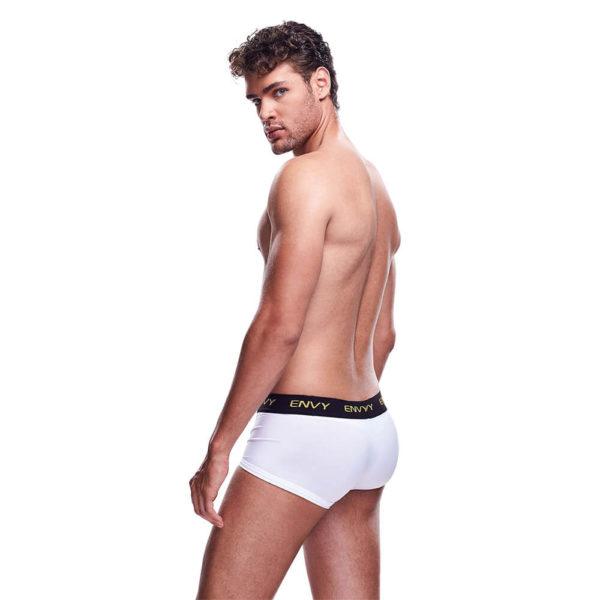 Envy Mesh Short Boxer BLE083 White Back
