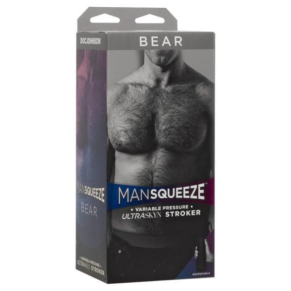 Man Squeeze Bear Ass Male Masturbator Packaging