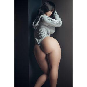 Jenny Realistic Big Butt Sex Doll Peachy Bum