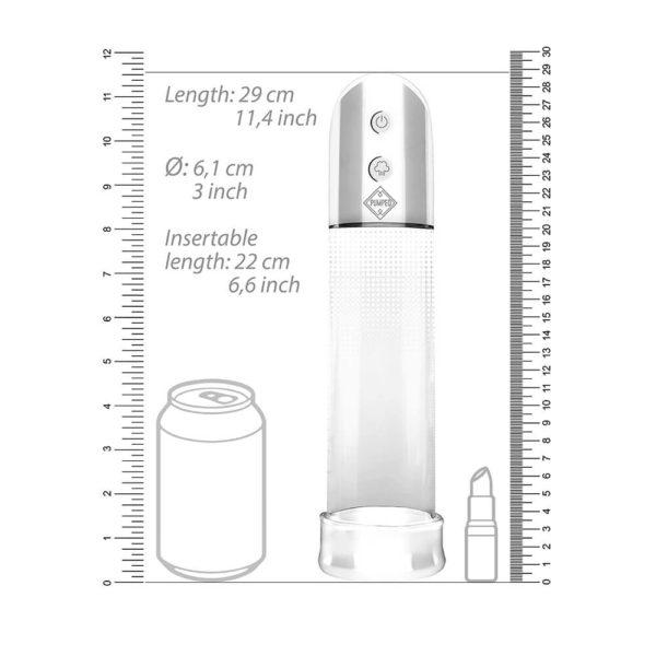 Pumped Automatic Luv Pump Penis Enlarger Measurements