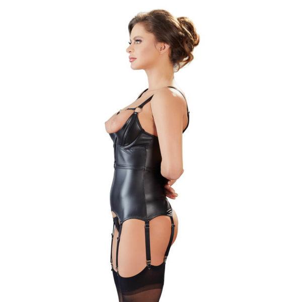 Cottelli Collection Bondage Suspender Basque Side