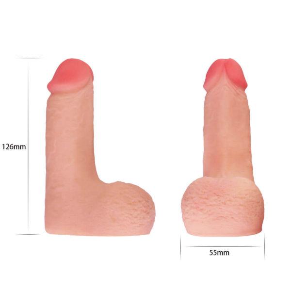 Skin Like Limpy Cock 5 Inch Packer Measurements